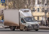фургон-рефрежиратор на шасси ГАЗ-А21R22* семейства ГАЗель NEXT#Х651УХ163. г. Самара, площадь Революции
