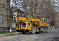 Автокран на шасси Bumar Fablok. Приднестровье, Тирасполь, улица 9 Января