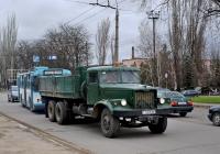 Бортовой грузовик КрАЗ #Т 875 ВК. Приднестровье, Тирасполь, улица 9 Января