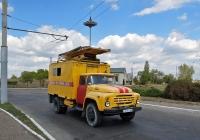 Вышка для ремонта контактной сети на шасси ЗиЛ-130* (шасси) . Приднестровье, Бендеры, улица Панина