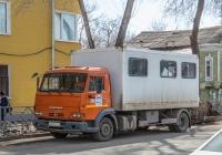 передвижная мастерская на базе шасси КамАЗ-4308* #Н003ТХ163. г. Самара, ул. Молодогвардейская