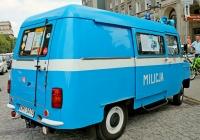 Микроавтобус Nysa 522 Милиция. Krakow, Польша