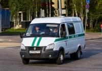 Автомобиль для доставки осуждённых, подозреваемых и обвиняемых в лечебные учреждения АМ-02 (19901-0000010) на шасси ГАЗ-2705 #К771РЕ777. Москва, улица Молодцова