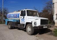 Автомобиль-цистерна на шасси ГАЗ-3307. Крым, Евпатория