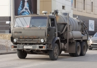 Ассенизационная машина на шасси КамАЗ-53213. Крым, Евпатория