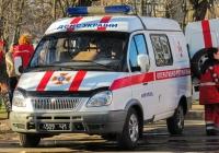 Оперативный штабной автомобиль на базе микроавтобуса ГАЗ-2752 «Соболь». Донецкая область, г. Мариуполь, Московская улица, 42