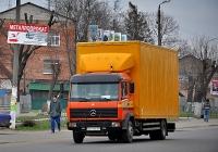 Изотермический фургон Mercedes-Benz LK-series  #АЕ 7328 ЕВ. Харьковская область, г. Мерефа, Днепропетровская улица