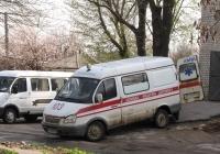 Санитарный автомобиль ГАЗ-2752 «Соболь», #АХ7969ВХ. Харьковская область, г. Харьков, Корсиковский переулок
