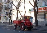 Самоходное шасси Т-16МГ #1607 КВ 82. Крым, Евпатория, Интернациональная улица
