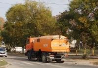 Дорожно-уборочная машина на шасси МАЗ-5337, В 001 НХ 82. Крым, Евпатория, улица Дмитрия Ульянова