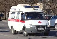 Санитарный автомобиль, на шасси ГАЗ- Луидор-2250B0, В 734 ОВ 82. Крым, Евпатория, улица Дмитрия Ульянова