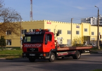 Эвакуатор на шасси MAN L2000, # В 539 РТ 82. Крым, Евпатория, улица Дмитрия Ульянова