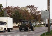 Самосвал на шасси ГАЗ-53-02, # А 847 СТ 82. Крым, Евпатория, улица 2-й Гвардейской Армии