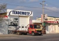 Эвакуатор на шасси Mercedes-Benz, # Н 268 ЕМ 777. Крым, Евпатория, улица 2-й Гвардейской Армии