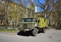 Фургон на шасси ГАЗ-66-14 №М 693 АХ 97. Москва, 6-й Новоподмосковный переулок