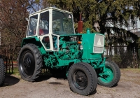 Учебный трактор ЮМЗ-6АКЛ, #19906АХ. Харьковская область, Нововодолажский район, село Ракитное