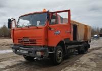 Каналопромывочная машина КО-514 на шасси КамАЗ-43253 Н 485 МУ 29. Архангельская область, Мирный