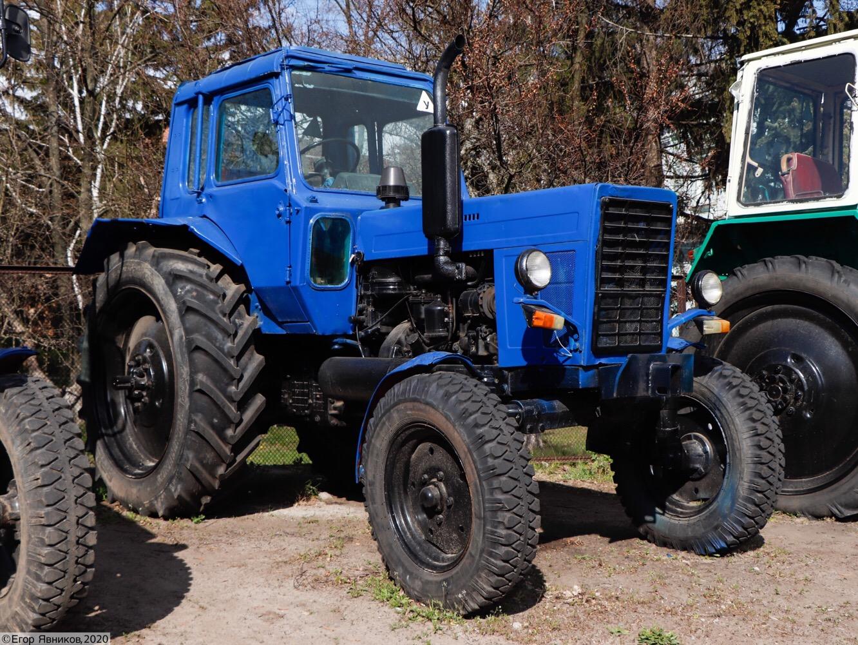 Учебный трактор МТЗ-80, #19739АХ. Харьковская область, Нововодолажский район, село Ракитное