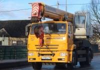КС-55744 Ивановец на шасси КамАЗ-53605 #О 918 КС 60. Псков, Инженерная улица