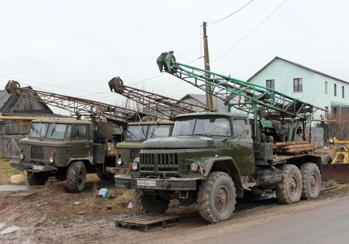 УГБ-50 на шасси ЗИЛ-131Н #В 048 ВВ 60. Псковский район, Неелово