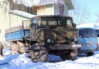Бортовой грузовик ГАЗ-66-14 #Е 020 МУ 60. Псковский район, Камно