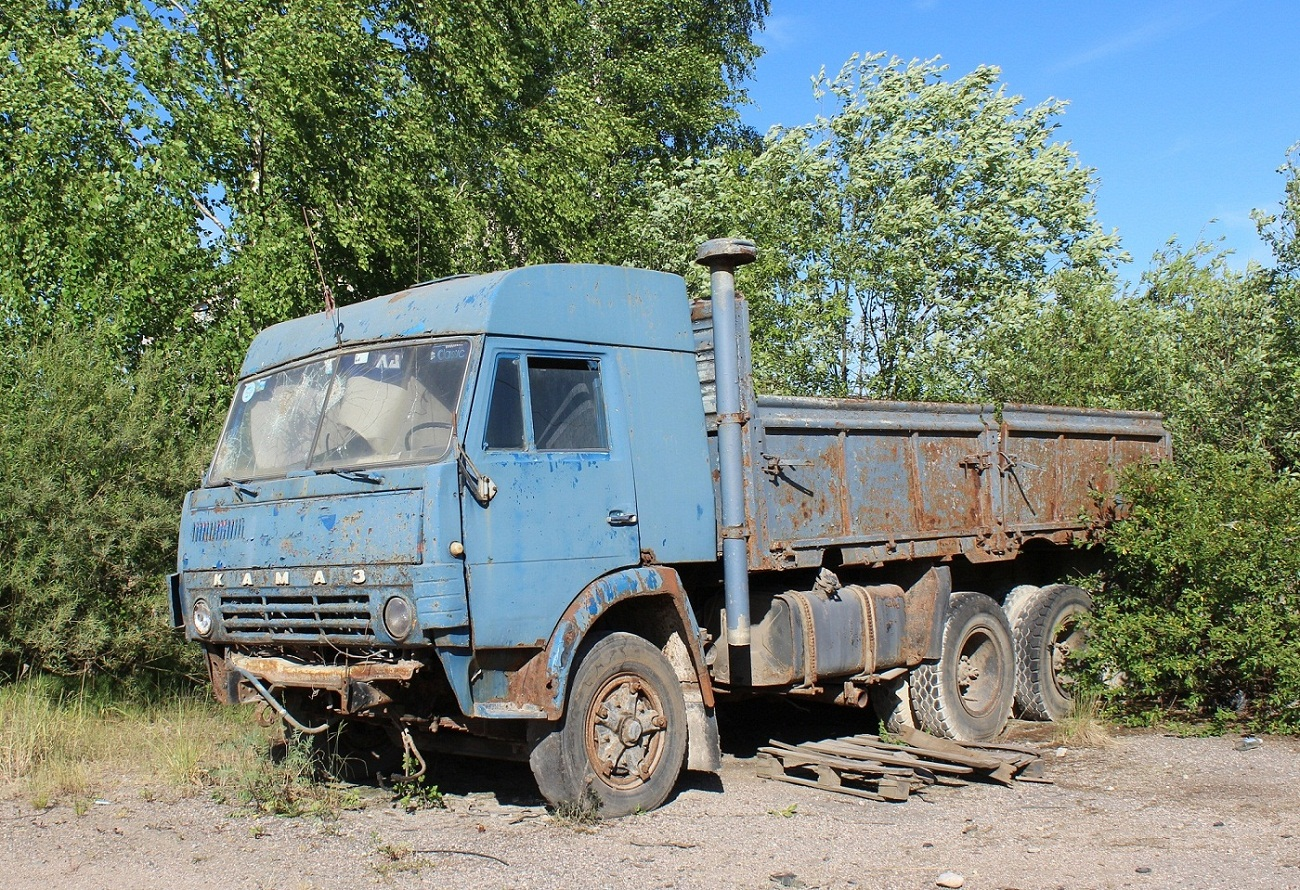 КамАЗ-5320 №5838 ПСС. Псковская область, Порхов, проспект Ленина
