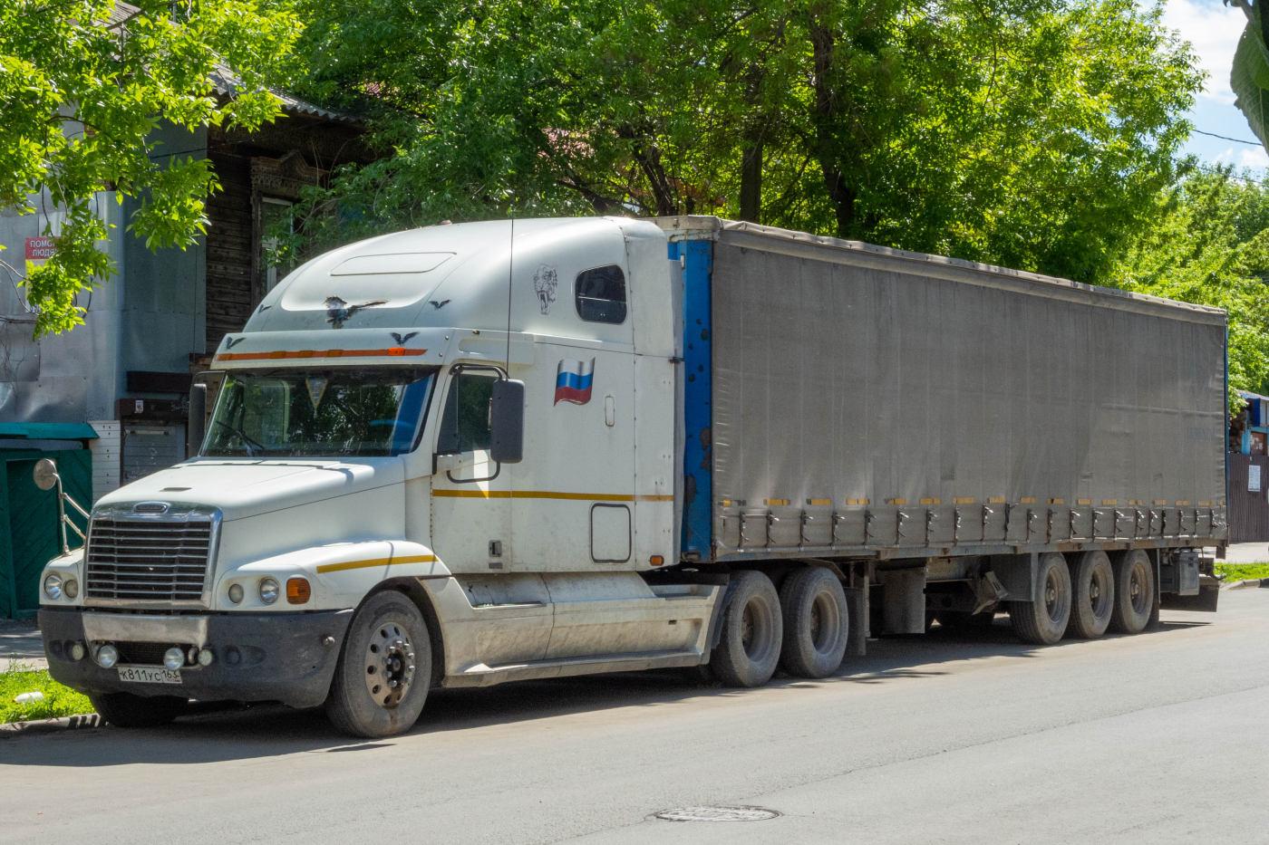 седельный тягач Freightliner #K811EC163. г. Самара, ул. Ярмарочная