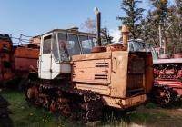 Гусеничный учебный трактор Т-150, #19908АХ. Харьковская область, Нововодолажский район, село Ракитное