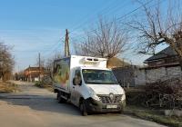 Изотермический фургон на шасси Renault Master #АХ 7925 ЕХ. Харьковская область, г. Харьков, Ферганская улица