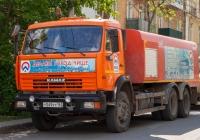 каналопромывочная машина КО-512 на базе шасси КамАЗ-65115 #В877МА763. г. Самара, ул. Степана Разина