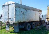 фургон на шасси КрАЗ-256* #А362АК64. Самарская обл., с. Торновое, ул. Советская