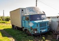 фургон на шасси IFA W50L #Р676СТ63. Самарская обл., с. Торновое, ул. Советская