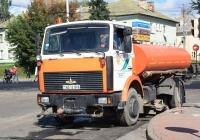 Поливомоечная машина ОРС-07 на шасси МАЗ-5337 №АВ 1419-6. Могилев, Привокзальная площадь