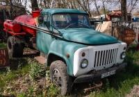 Автотопливозаправщик модели 3607 на шасси ГАЗ-52-01, #229-12ХА. Харьковская область, автодорога М-18
