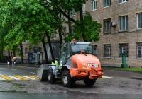 Фронтальный мини-погрузчик Kramer Allrad-750 №35 #0635 НЕ 77. Москва, Мирской переулок