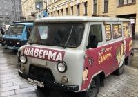 Грузопассажирский фургон УАЗ-3909, #А 438 МВ 198. Санкт-Петербург, Кирпичный переулок