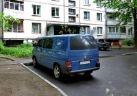 Грузопассажирский микроавтобус Volkswagen Transporter  #АХ 0985 BI. Харьковская область, г. Харьков, Салтовское шоссе