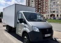 "Фургон ГАЗ ""Газель Next"". Санкт-Петербург, Туристская улица"
