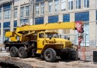 подъемный кран Ивановец КС-35714 #О241ММ163. г. Самара, ул. Некрасовская