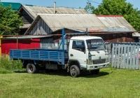 грузовой автомобиль BAW-Fenix #А483НС763. Самарская область, с. Ширяево, ул. Самарская