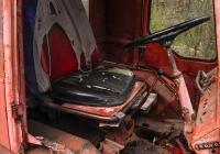 Кабина самоходного шасси Т-16МГ. Харьковская область, посёлок Бабаи