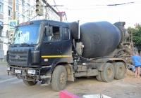 миксер на шасси CAMC HN340 #В778ЕА763. г. Самара, ул. Ульяновская