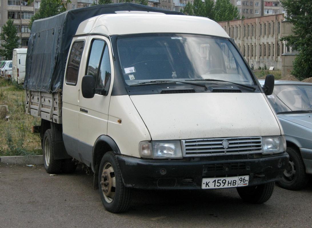 """Автомообиль ГАЗ-33023 """"Газель"""". Башкортостан, г. Уфа, улица Юрия Гагарина"""