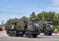 радиорелейная станция Р-416 на шасси КАМАЗ-5350 парадного расчета. г. Самара, ул. Вилоновская