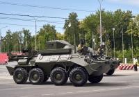 Унифицированная командно-штабная машина Р-149МА1 (УКШМ Р-149МА1) парадного расчета. г. Самара, ул. Вилоновская