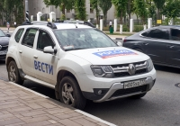 передвижной корпункт на базе Renault Duster #М805ХВ777. г. Самара, ул. Галактионовская