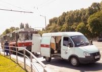 """автомобиль техпомощи на базе ГАЗ-2752 """"Соболь"""" #Т052ХХ163. г. Самара, Московское шоссе"""