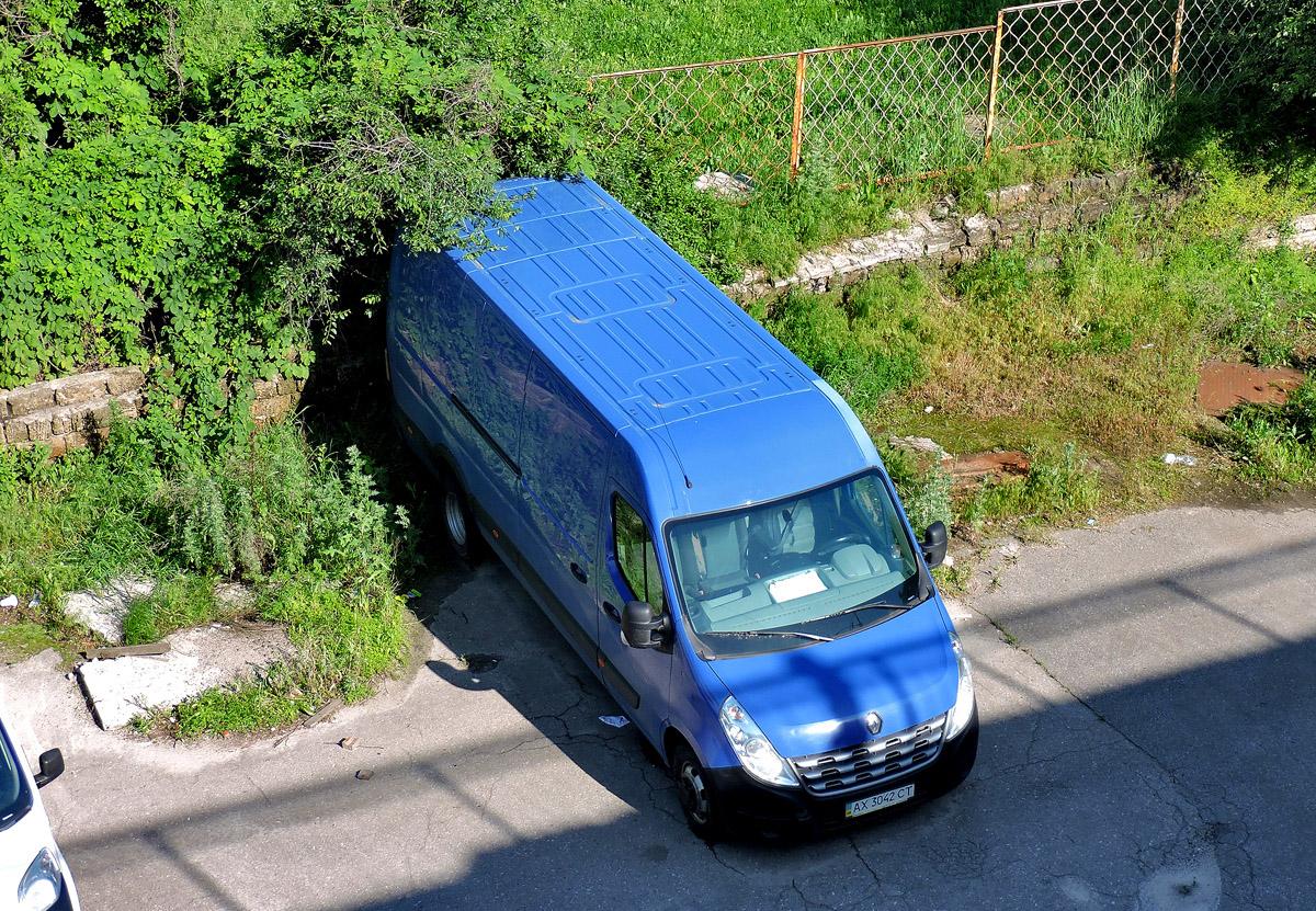 Грузовой фургон Renault Master  #АХ 3042 СТ. Харьковская область, г. Харьков, проспект Льва Ландау