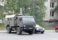 санитарный автомобиль на базе КАМАЗ-4350* #0511АК76. г. Самара, ул. Осипенко