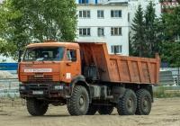 Самосвал KамАЗ-65222-53 #Т872АТ197. г. Самара, ул. Крупской